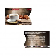 Etui na Karty Zbliżeniowe Kawa
