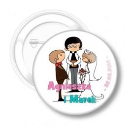 Buttons Wedding No. 20 Agnes and Brand
