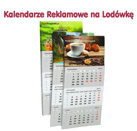 Kalendarze reklamowe na Lodówkę !